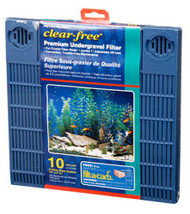 Penn Plax 10 Gallon Aquarium Premium Under Tank Filter