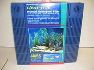 Penn Plax 40/55 Gallon Aquarium Premium Under Tank Filter