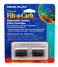 Penn Plax Cartridges FC4-Fits Undertow and Perfect-a-Flow (2/Pkg.)