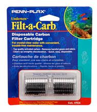 Penn Plax Cartridges FC4-Fits Undertow and Perfect-a-Flow (2/Pkg.)