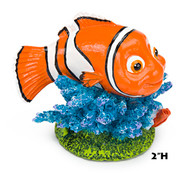 Penn Plax Finding Nemo Resin Ornament Mini 2-Inch Height
