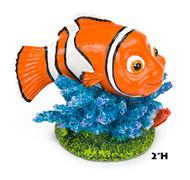 Penn Plax Finding Nemo Resin Ornament Mini 2-Inch Height