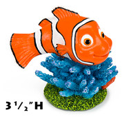 Penn Plax Finding Nemo Resin Ornament for Aquariums 3-1/2-Inch