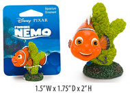 Penn-Plax Nemo on Coral Ornament Mini