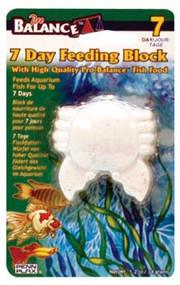 Penn Plax Pro-Balance Crab Shape Vacation Feeding Block - 1 Per Blister Card