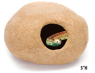 Penn-Plax Extra Large Granite Stone Hideaway
