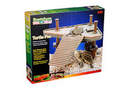 Penn Plax Decorative Turtle Pier Floating/Basking Platform Small