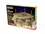 Penn Plax Decorative Turtle Pier Floating/Basking Platform Large