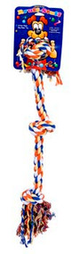 Dog Life 3-Knot Rope Dog Toy Multi-Color