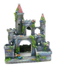 Penn Plax Medieval Castle of Germany Aquarium Ornament - Small