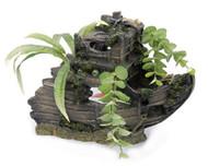 Penn Plax Sunken Gardens Shipwreck Bow - Large