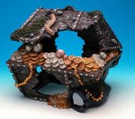 Penn Plax Sunken Treasure Chest Aquarium Decoration