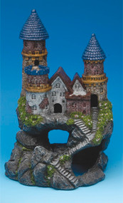 Penn Plax Enchanted Castles Aquarium Decoration