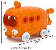 Spongebob Aquarium Ornament Bilini Bottom Bus