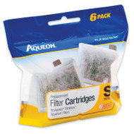 Aqueon Small Filter Cartridge 6-Pack