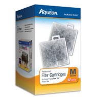 Aqueon Medium Filter Cartridges 12-Pack
