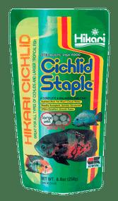 Hikari Cichlid Staple Floating Pellets for Pets Large 8.8-Ounce