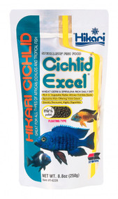 Hikari Cichlid Excel Floating Pellets for Pets 8.8-Ounces