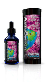 Brightwell Amino and Omega HUFA Liquid Fish Food 4oz