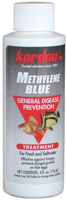 Kordon Methylene Blue-General Disease Prevention Treatment 4-Ounce,