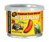 Zoo Med Tropical Fruit Mix-ins Red Banana Turtle Food 3.4-Ounce