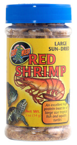 Zoo Med Large Red Shrimp Food 0.5-Ounce