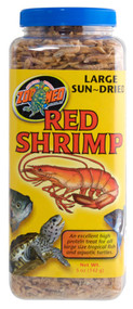 Zoo Med Sun Dried Large Red Shrimp 5-Ounce