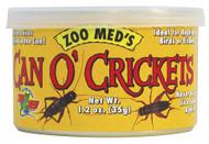 Zoo Med Can O' Crickets 1.2 oz