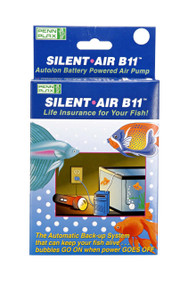 Penn-Plax Silent Air Battery Operated Air Pump