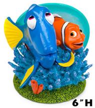 Penn Plax Finding Nemo Dory and Marlin 6 in Aquarium Ornament