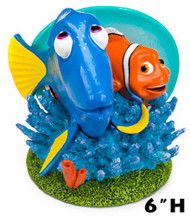 Penn Plax Finding Nemo Dory and Marlin 6 in Aquarium Ornament