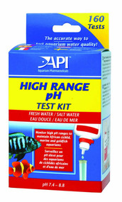 API High Range pH Test Kit Freshwater and Saltwater 160 Tests