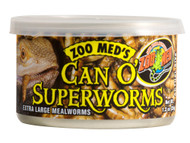 Zoo Med Can O' SuperWorms 1.2 oz