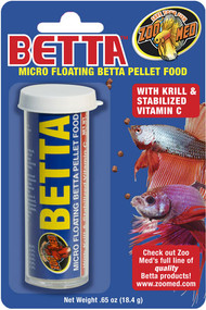 Zoo Med Betta Micro Pellet Food 0.65-Ounce