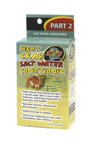 Zoo Med Hermit Crab Salt Water Conditioner 2.25-Ounce