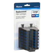 Aqueon Replacement Filter Cartridge QuietFlow Internal Power Filter Med/Large 2pk