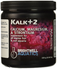 Brightwell Kalk+2 Advanced Kalkwasser Supplement w/Calc, Stron, Mag 450gm/15.9oz