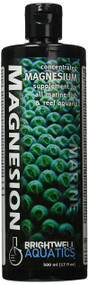 Brightwell Aquatics Magnesion Liquid Salt Water Conditioners for Aquarium, 17-Ounce