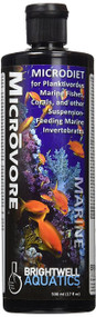 Brightwell Microvore Microdiet for Planktivorous Fishes, Corals, etc. 17oz