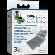 Fluval EDGE Carbon Clean & Clear Renewal Sachets - 3-Pack