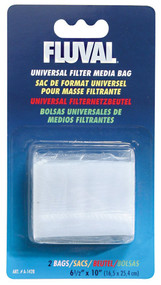 Fluval Universal Media Filter Bag, Pack of 2