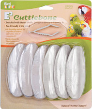 Penn Plax Cuttlebone Natural 6 Pack