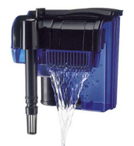 Penn Plax Cascade Hang-on Aquarium Filter With Quad Filtration System Cleans Up to 100 Gallon Tank