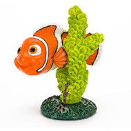 Penn Plax NEMO WITH GREEN CORAL - SMALL