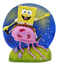 SPONGEBOB RIDING JELLYFISH