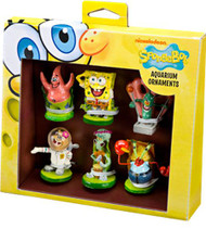 SPONGEBOB MINI RESIN 6PC GIFT