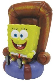 SPONGEBOB IN CHAIR RESIN