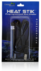 Deep Blue Professional Heat Stik Sub Heater for Aquarium Mini 30-watt