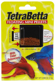 Tetra Betta Floating Mini Pellets, 0.088 oz