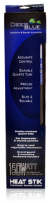 Deep Blue Professional Heat Stik Quartz Heater for Aquarium 150-watt